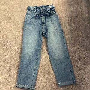 Abercrombie & Fitch Paperbag Jeans